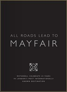 Report on the Mayfair Residential Property Market - First Half of Year 2011