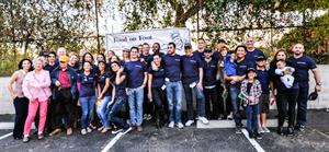 HILTON & HYLAND'S HELPING HANDS JOINS FOOD ON FOOT TO HELP AREA HOMELESS TRANSITION OUT OF POVERTY