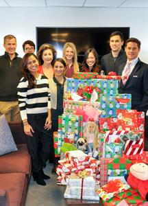 HILTON & HYLAND HELPING HANDS BRINGS HOLIDAY CHEER TO CHILDREN AT THE LOS ANGELES BOYS AND GIRLS CLUB BEVERLY HILLS, CA