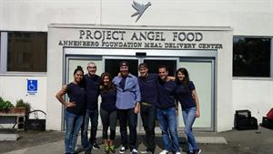 Hilton & Hyland Helping Hands & Project Angel Food: Brokerage Gives Time, Energy, and Dedication