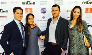 Hilton & Hyland Sponsors Enigma Magazine's Soireé at Montage Beverly Hills
