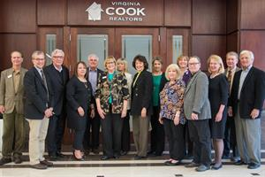 Virginia Cook Realtors agents poured their own hearts into helping the December 26 tornado victims