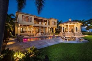 $7.5  Million Dollar House for Sale on Davis Island, Tampa Bay
