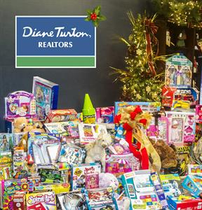 Diane Turton, Realtors  Turton Toy Drive  A Huge Success!
