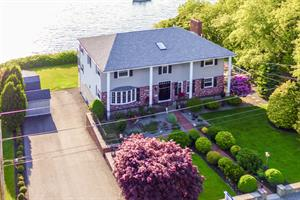 Waterfront Home in Jamestown Sells for $1.195M