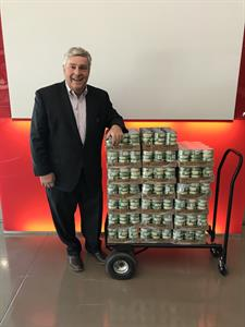 Chase Helps Bring in Record Haul for Tuna Food Drive