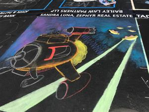 Zephyr Real Estate Agent Sandra Luna Supports Italian Street Painting Marin