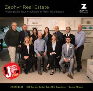Zephyr Real Estate Scores Readers' Choice Awards through Marin Independent Journal