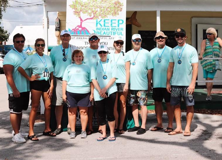 Paddle Dash event, presented by Dale Sorensen Real Estate, highlighted the importance of the Indian River Lagoon