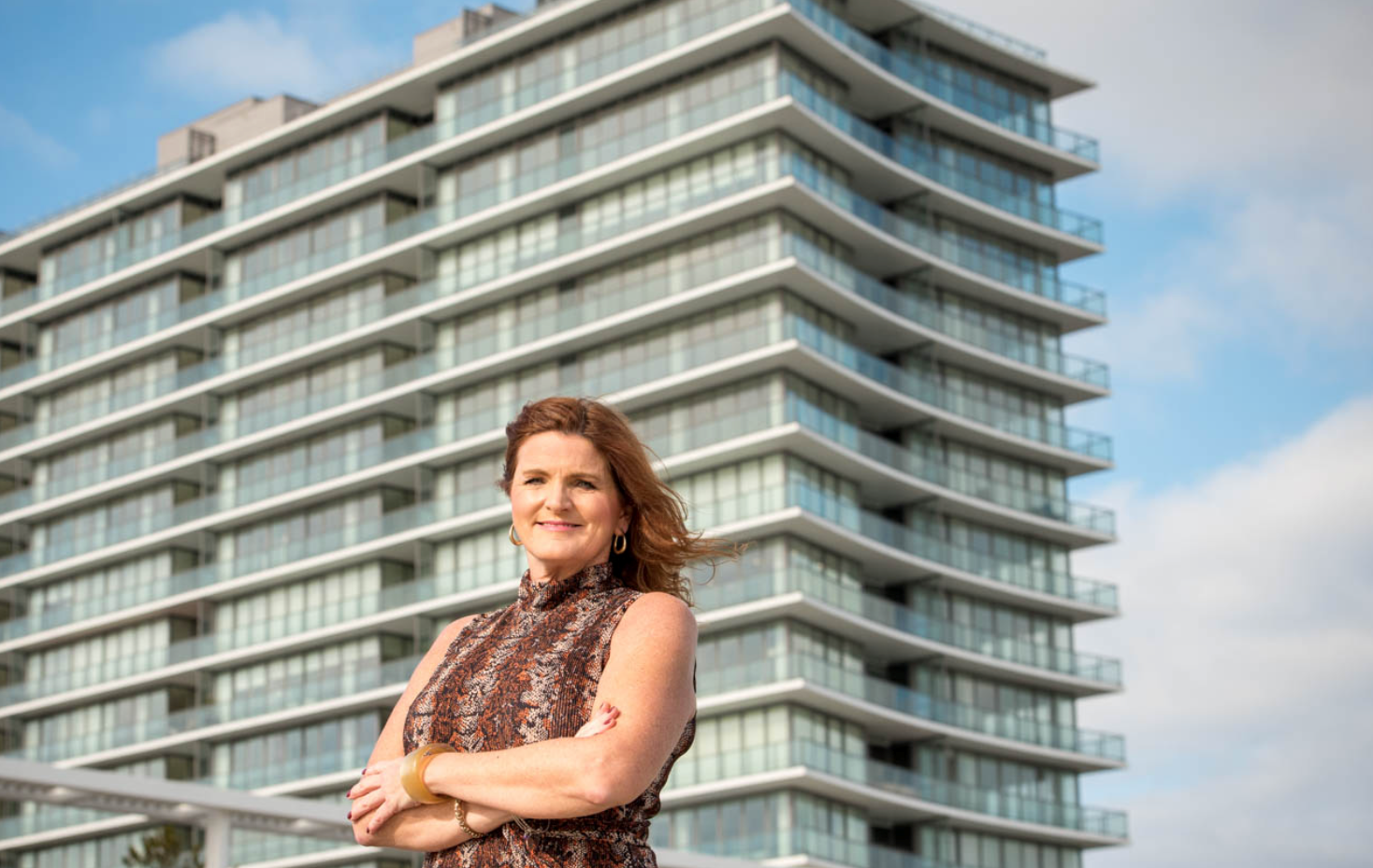 DIANE TURTON, REALTORS AGENT MARY MCALLISTER REPRESENTS BUYER OF $5 MILLION PENTHOUSE AT ASBURY OCEAN CLUB